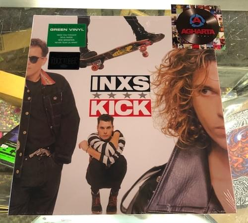 INXS - Kick LP On Green Vinyl