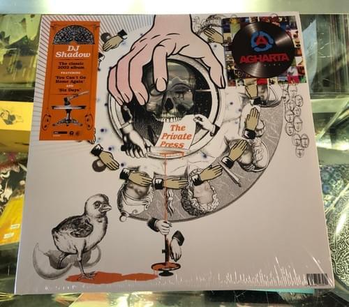 DJ Shadow - The Private Press 2XLP On Vinyl [IMPORT]
