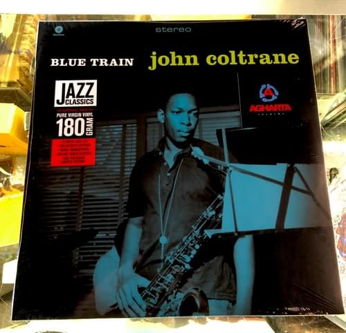 John Coltrane- Blue Train Lp On Vinyl[Blue Note Pressing] Or Deluxe In Gatefold Jaket