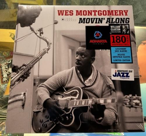 Wes Montgomery - Movin' Along LP On Vinyl [IMPORT]