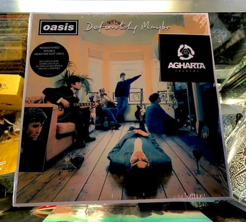 Oasis- Definitely Maybe 2XLP ON Vinyl Includes download W/33 Unreleased Tracks