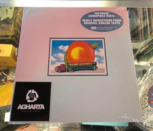 The Allman Brothers Band- Eat A Peach 2XLP on Vinyl [IMPORT]