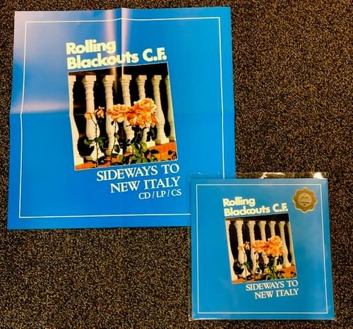 Rolling Blackouts C.F. LP On Blue Vinyl With Poster