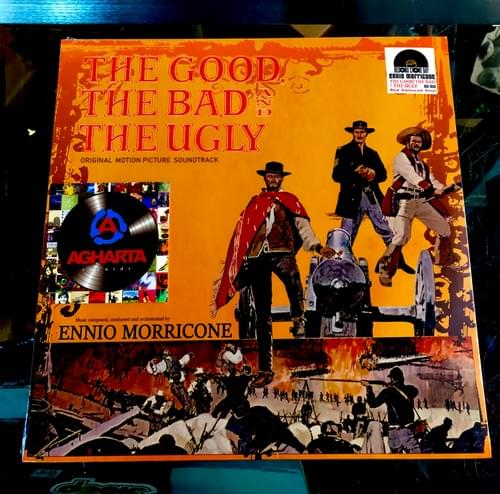 The Good, The Bad And The Ugly- Ennio Morricone LP On Red Vinyl [IMPORT] Pre-Order 6/5