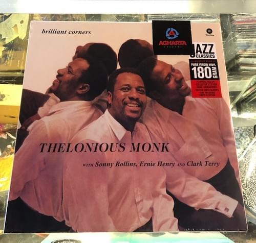 Thelonious Monk - Brilliant Corners LP Vinyl [IMPORT}