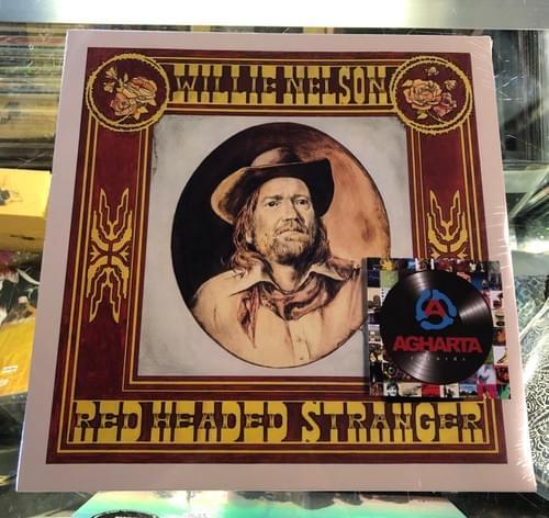 Willie Nelson- Red Headed Stranger LP On Vinyl