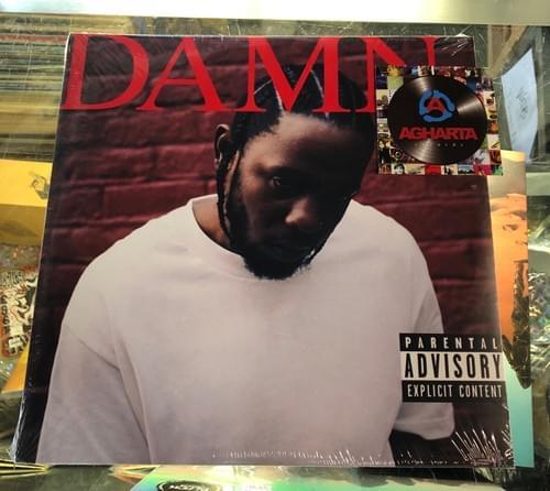 Kendrick Lamar- DAMN 2xLP On Vinyl