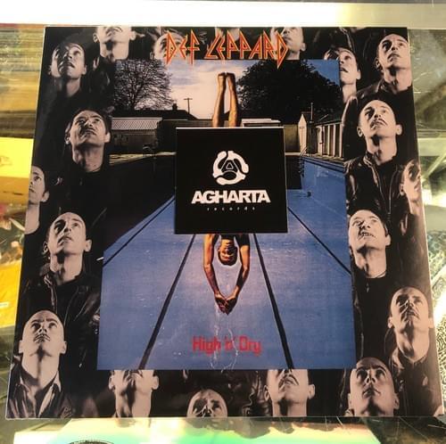 DEF LEPPARD- High 'N' Dry LP On Vinyl [IMPORT]