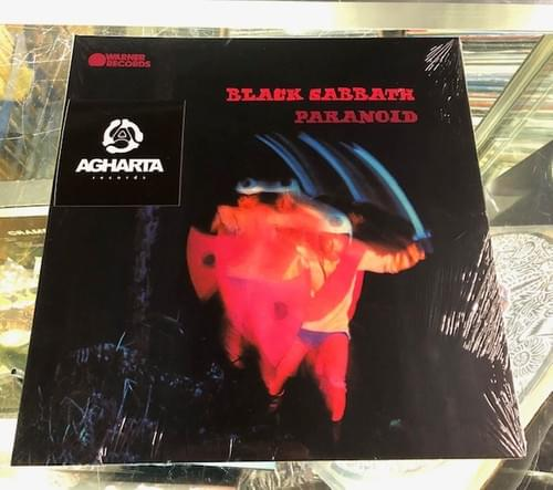 Black Sabbath- Paranoid LP On Vinyl
