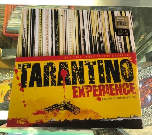 The Tarantino Experience DELUXE EDITION 2XLP On Colored Vinyl [IMPORT}