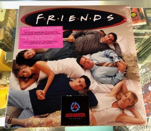 Friends OST 25th Anniversary Edition 2xLP On Hot Pink Vinyl