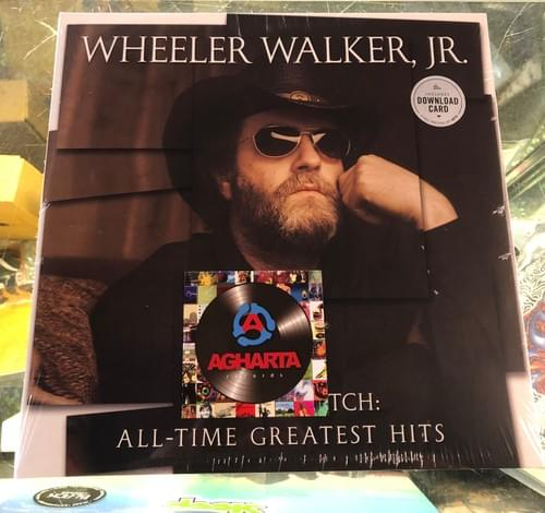 Wheeler Walker, Jr - All-Time Greatest Hits LP On Vinyl