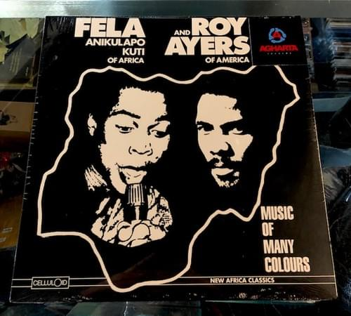 Fela And Roy Ayers - Music Of Many Colours LP On Vinyl
