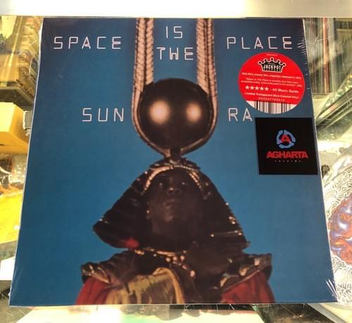 Sun Ra - Space Is The Place LP On Transparent Blue Colored Vinyl