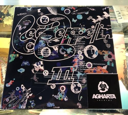 Led Zeppelin III LP On Vinyl