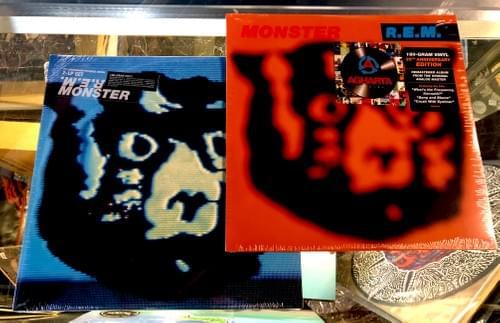 R.E.M.- Monster LP On Vinyl [Regular 1 LP & Expanded 25th Anniversary 2xLP]