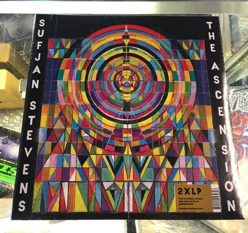 Sufjan Stevens - The Ascension 2xLp On Clear Vinyl