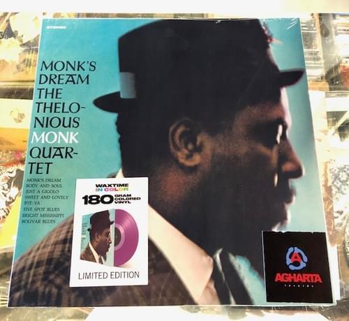 Thelonious Monk Quartet - Monk's DReam LP On Colored Vinyl [IMPORT]
