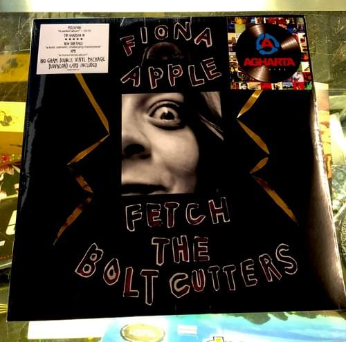 Fiona Apple - Fetch The Bolt Cutters 2XLP Limited Edition Pearl Opaque Vinyl & Regular Black