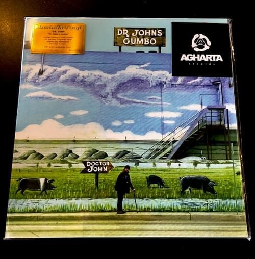Dr John's Gumbo LP On Marbled Turquoise Vinyl [IMPORT]