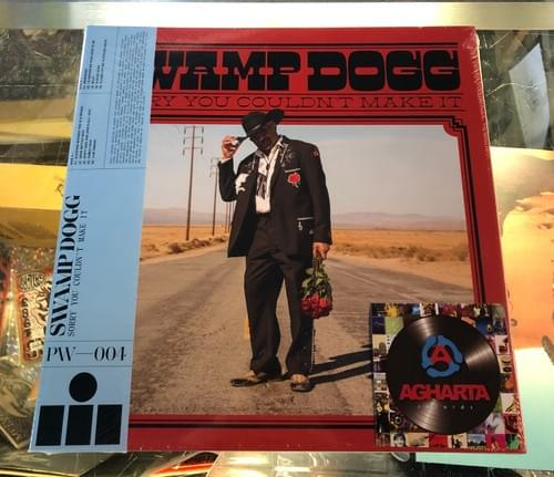 Swamp Dogg - Sorry You Couldn't Make It LP On Swamp Green Colored Vinyl W/Bonus 7""