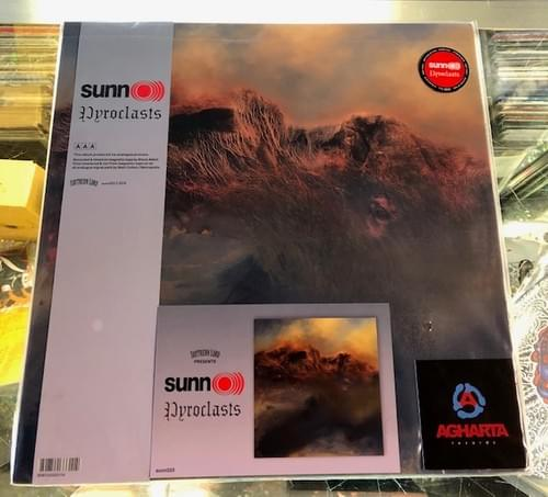 Sunn O))) - Life Metal 2xLP On Blue Or Gold Vinyl Also Pyroclasts[Demos] LP On Red Vinyl