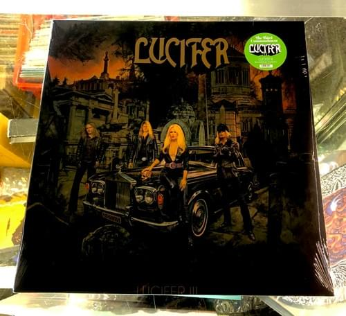 Lucifer - III, The Third Commandment Record Store Exclusive LP On Vinyl Only 300 Pressed!