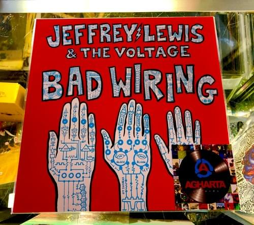 Jeffrey Lewis & The Voltage- Bad Wiring LP On Vinyl!