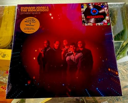 Durand Jones & The Indications - Private Space On Limited Edition Red Nebula Vinyl
