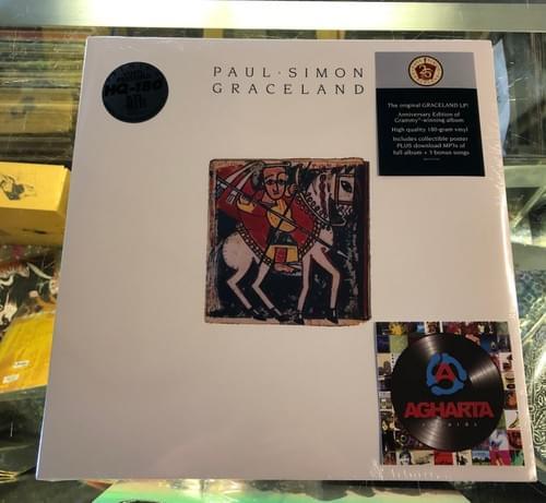 Paul Simon- Graceland LP On Vinyl