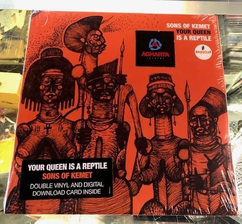 Sons Of Kemet - Your Queen Is A Reptile 2xLP On Vinyl