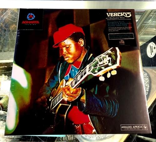 Verckys & Orchestre Veve- Congolese Funk, Afrobeat and Psychedelic Rhumba 2xLP On Vinyl [IMPORT]