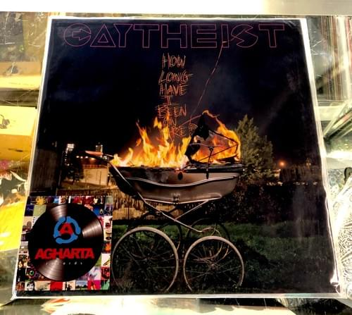 Gaytheist - How Long Have I Been On Fire Lp On Orange Vinyl [Flaming]