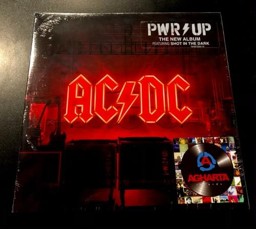 AC/DC - PWR/UP LP On Vinyl In Gatefold Jacket
