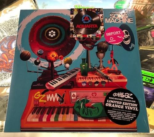 Gorillaz - Song Machine Season One on limited edition orange vinyl & deluxe 2xLP box set