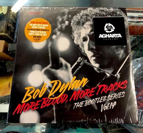 Bob Dylan - Blood On The Tracks LP And More Blood, More Tracks Bootleg Series 2xLP On Vinyl