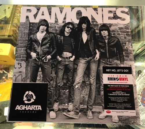 The Ramones- Self Titled LP On Vinyl