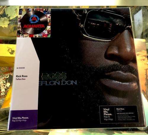 Rick Ross -Teflon Don LP On Black/Gold Galaxy Vinyl