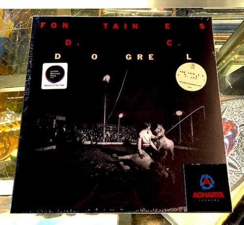 Fontaines D.C.- Dogrel LP On Vinyl