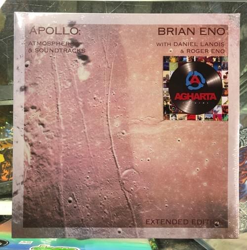 Brian Eno With Daniel Lanois & Roger Eno- Apollo  2xLP On Vinyl [IMPORT]