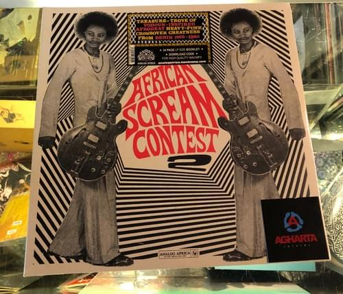 Various Artists - African Scream Contest 2 (1963-1980) 2xLP On Vinyl [IMPORT]