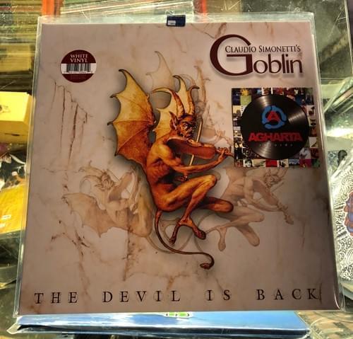 Claudio Simonetti's GOBLIN- The Devil Is Back LP On White Vinyl [IMPORT]