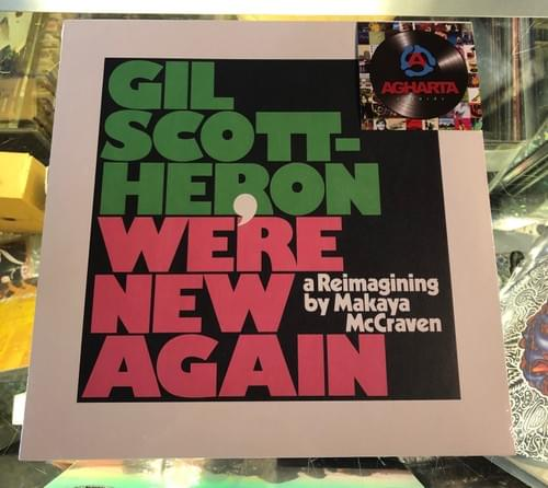 Makaya McCraven- A Reimagining of Gil-Scott Heron- We're New Again LP On Vinyl