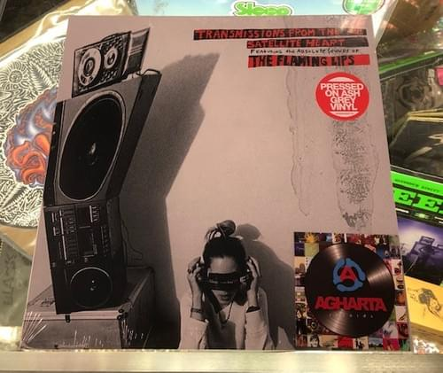 The Flaming Lips - Transmissions From The Satellite Heart LP on Grey Ash Vinyl