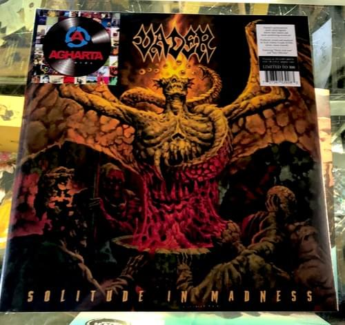 Vader- Solitude In Madness LP On Swamp Green W/Orange Splatter Or Mustard Colored Vinyl