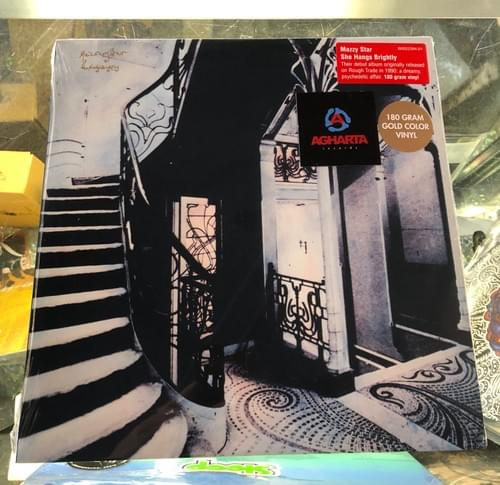 Mazzy Star- She Hangs Brightly LP On Gold Vinyl
