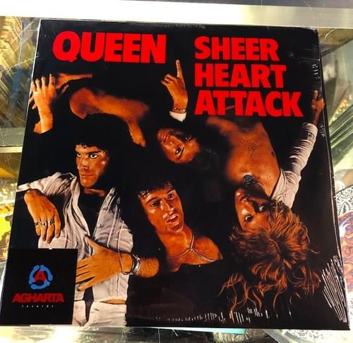 Queen- Sheer Heart Attack LP On Vinyl