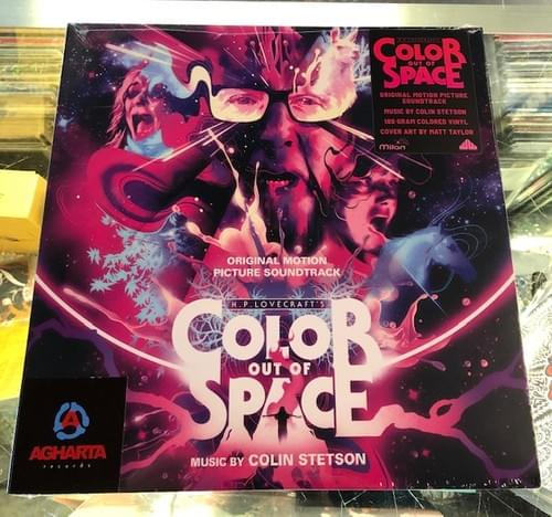 Color Out Of Space Soundtrack By Colin Stetson LP On Colored Vinyl [Pre-Order 5/22/2020]