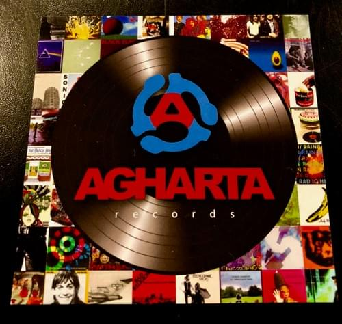 AGHARTA Records Stickers - Free with any purchase