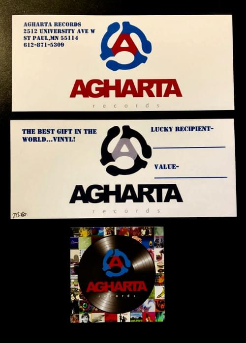 Agharta Records Gift Certificates!